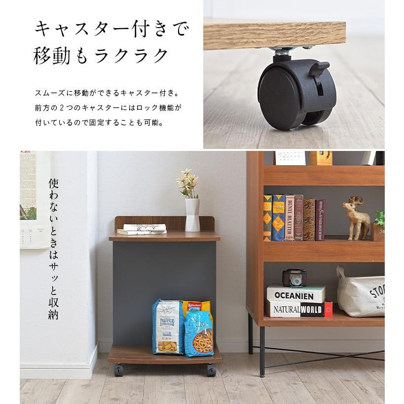 テーブル ナイトテーブル サイドチェスト カフェテーブル ベッド ソファ キャスター付き マガジンラック ミニデスク サイドテーブル Olive(オリーブ) 3色対応|wakuwaku-land|12