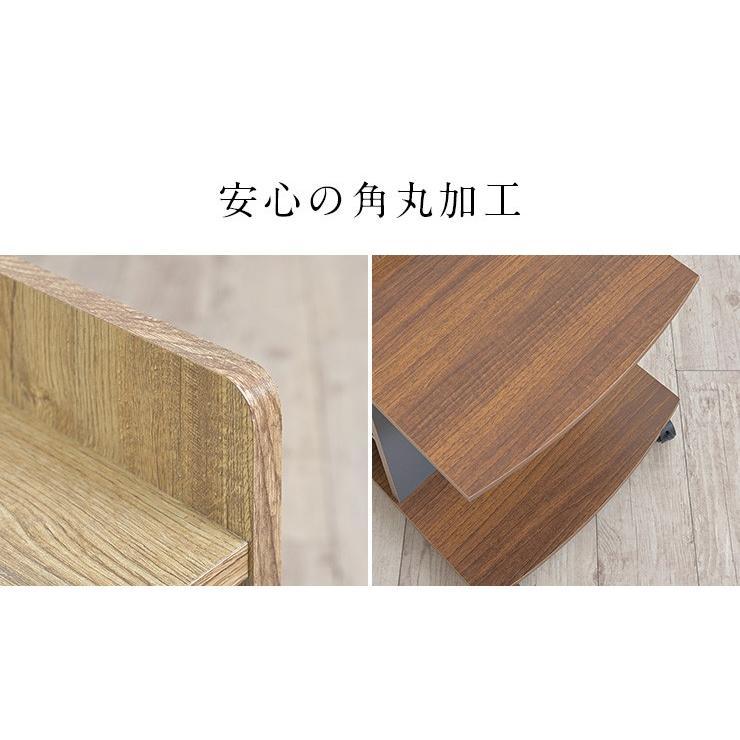 テーブル ナイトテーブル サイドチェスト カフェテーブル ベッド ソファ キャスター付き マガジンラック ミニデスク サイドテーブル Olive(オリーブ) 3色対応|wakuwaku-land|13