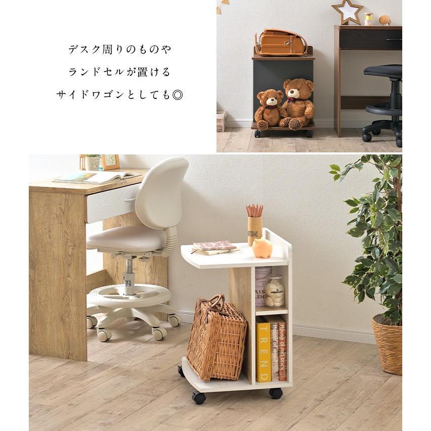 テーブル ナイトテーブル サイドチェスト カフェテーブル ベッド ソファ キャスター付き マガジンラック ミニデスク サイドテーブル Olive(オリーブ) 3色対応|wakuwaku-land|09