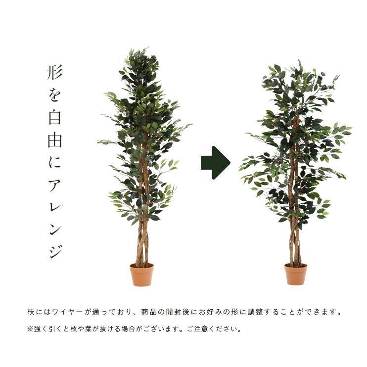 人工観葉植物 フェイクグリーン Ficuse(フィカス) 690 H150cm・H160cm 2種対応 人工植物 観葉植物 おしゃれ フェイク 造花 大型 グリーン インテリア|wakuwaku-land|11