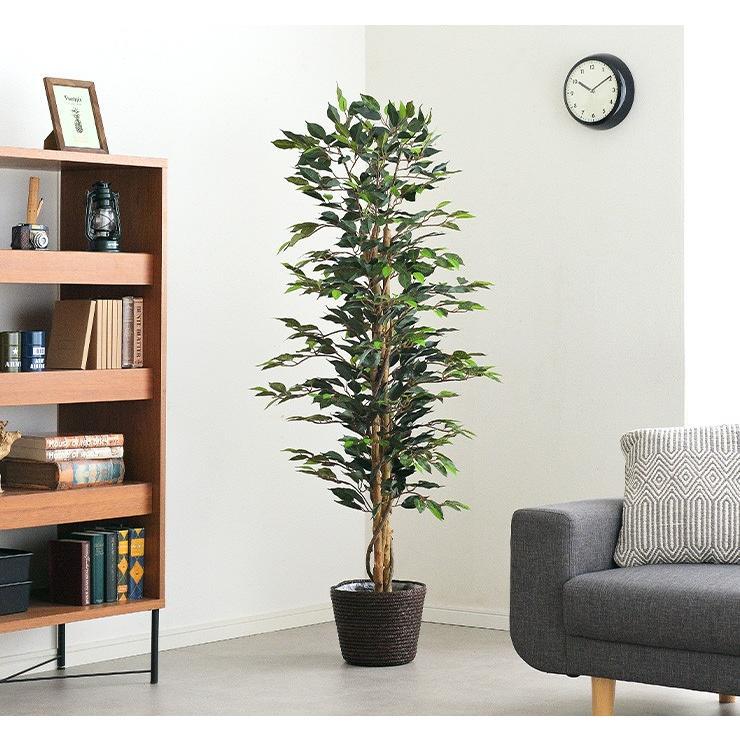 人工観葉植物 フェイクグリーン Ficuse(フィカス) 690 H150cm・H160cm 2種対応 人工植物 観葉植物 おしゃれ フェイク 造花 大型 グリーン インテリア|wakuwaku-land|14