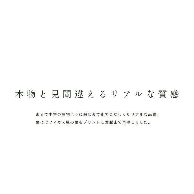 人工観葉植物 フェイクグリーン Ficuse(フィカス) 690 H150cm・H160cm 2種対応 人工植物 観葉植物 おしゃれ フェイク 造花 大型 グリーン インテリア|wakuwaku-land|09