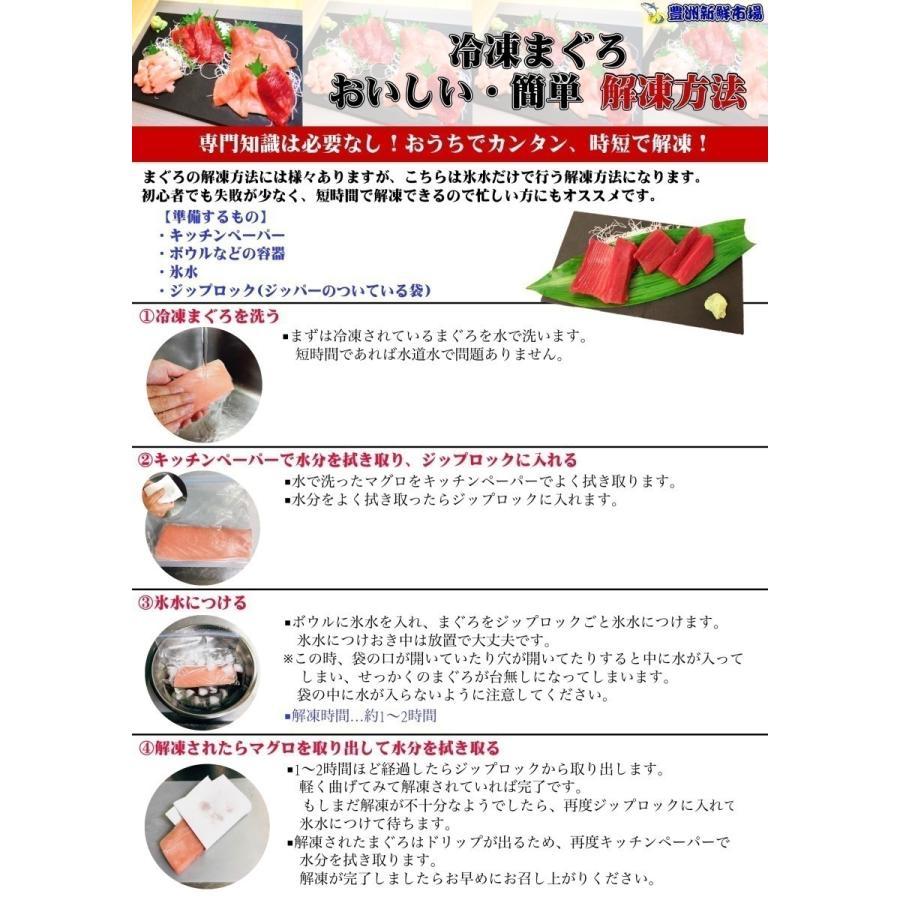 まぐろ マグロ 本まぐろ 2種 中トロ 赤身 セット 解凍レシピ付き 本まぐろ満足セット 300g 鮪 プレゼント イベント ギフト wakuwaku-wear 11