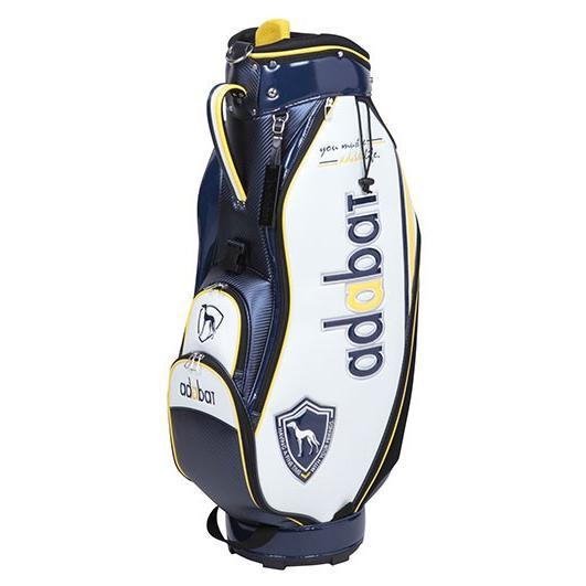 ゴルフ キャディバッグ adabat アダバット ABC298 NV ネイビー 紺 9.0型 軽量2.9kg【TP】