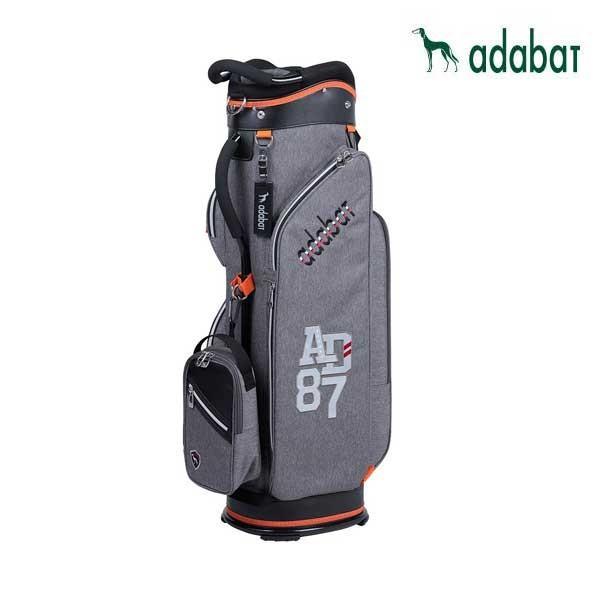 【日本製】 ゴルフ adabat メンズ キャディバッグ adabat アダバット アダバット ABC404 チャコール ABC404 9.0型 軽量2.7kg 47インチ対応 取外しポーチ付 CB256, 京屋酒店ワインカーヴ:87f6aae0 --- airmodconsu.dominiotemporario.com