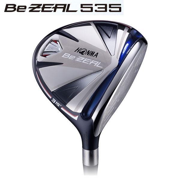 本間ゴルフ HONMA ホンマ Be ZEAL ビジール 535 フェアウェイウッド VIZARD カーボンシャフト