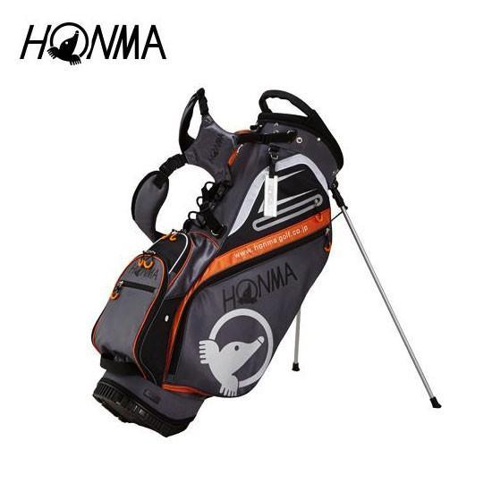 ゴルフ メンズ キャディバッグ 本間ゴルフ HONMA ホンマゴルフ 軽量スタンドキャディバッグ CB-1811 シルバー 9型