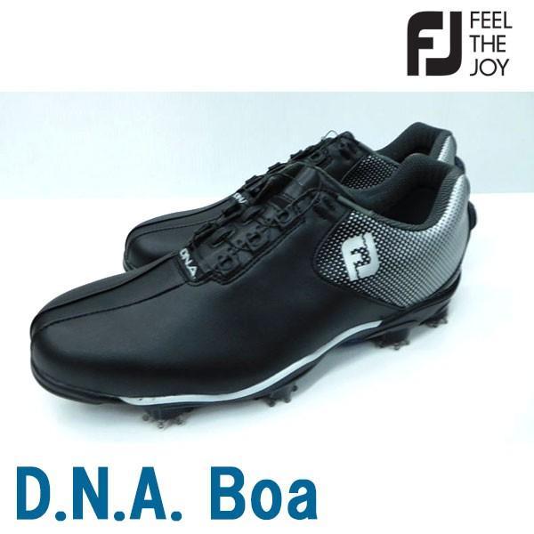 Footjoy フットジョイ 男性用 メンズ ゴルフ シューズ D.N.A. Boa #53333 SU073