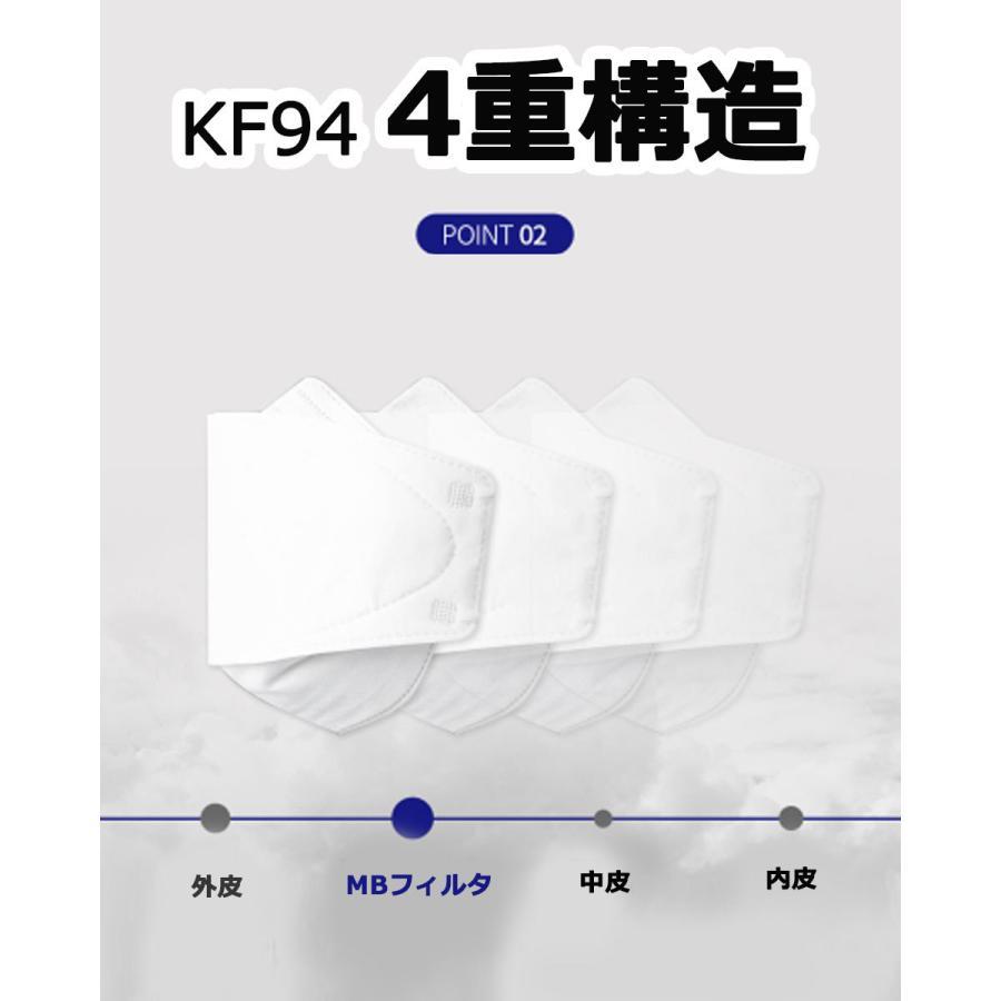 KF94 マスク ダイヤモンド形状 50枚入り 使い捨てマスク 4層構造 プレミアムマスク 不織布マスク 防塵マスク ウイルス 飛沫対策 PM2.5 花粉|wallstickershop|05