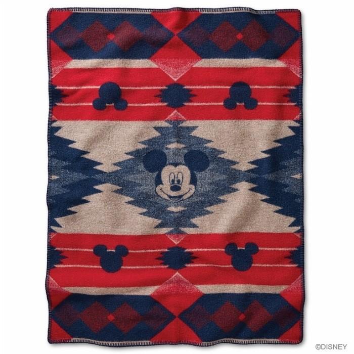 ペンドルトン PENDLETON / ウールブランケット PWM Mickeys Frontier MUCHACHO ミッキーマウス