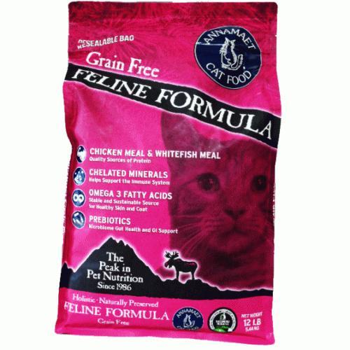アナメイト グレインフリーキャットフード フィーライン 12ポンド(5.4kg)|wan-nyan-olive|02