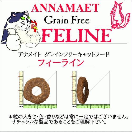 アナメイト グレインフリーキャットフード フィーライン 4ポンド(1.82kg)|wan-nyan-olive|12