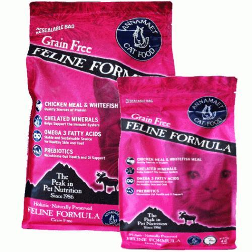 アナメイト グレインフリーキャットフード フィーライン 4ポンド(1.82kg)|wan-nyan-olive|03