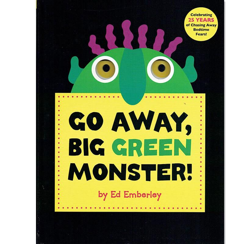 英語 しかけ絵本 Go Away, Big Green Monster! 幼児 読み聞かせ モンスター おばけ ハロウィン プレゼント wanco2