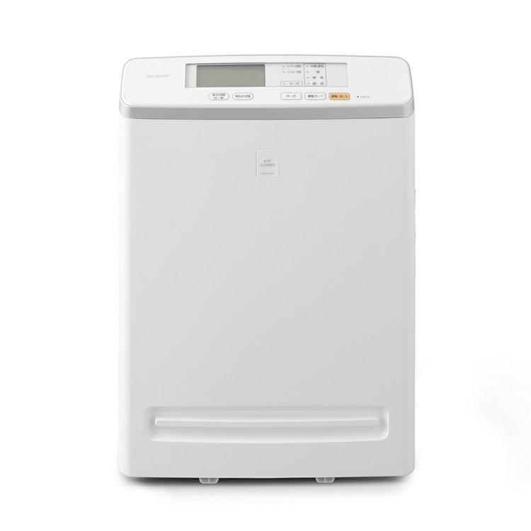 空気清浄機 ほこり におい 浄化 急速清浄 アレルギー アイリスオーヤマ モニター付き空気清浄機 25畳 ホワイト MSAP-DC100|wannyan|02