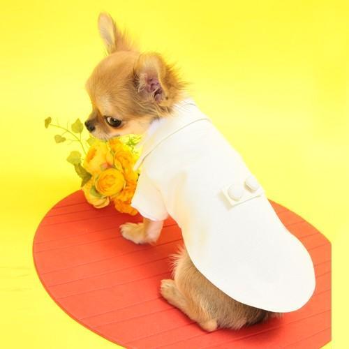 細かいサイズにも対応 愛犬のためのタキシードスーツ☆ 結婚式や記念日に【送料無料】 wanpla 04