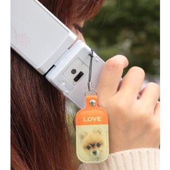 うちのコが一番!いつも身近に感じたい お気に入り写真から製作する本革携帯クリーナー(携帯ストラップ)|wanpla|04