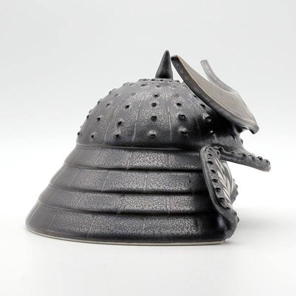 砥部焼 おしゃれ 【兜 カブト】 リアルな質感 小物 置物 窯元 和将窯 Washo-310 wapal 05