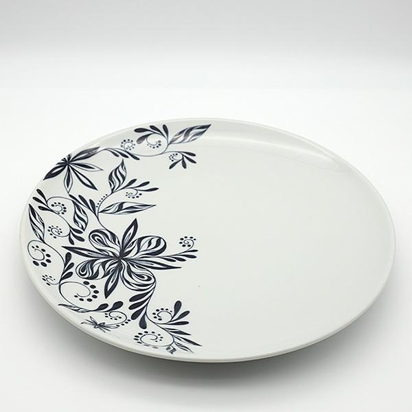[一点物] 砥部焼 おしゃれ 【HANA -花-】 お皿 平皿 プレート 窯元 和将窯 Washo-702 wapal 05