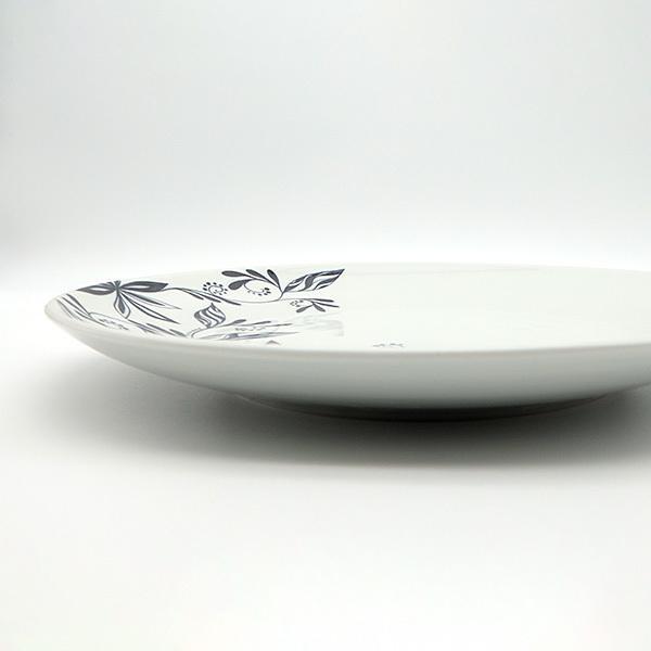 [一点物] 砥部焼 おしゃれ 【HANA -花-】 お皿 平皿 プレート 窯元 和将窯 Washo-702 wapal 06