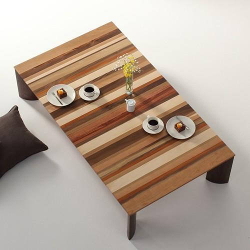 ローテーブル センターテーブル ソファーテーブル リビングテーブル 座卓 ウォールナット材 木製 和モダン 北欧 北欧 カラフル モロッコ デザイン 送料無料