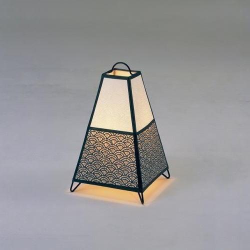 和室照明 和風スタンドライト 間接照明 和 モダン フロアーライト 行灯タイプ 蔵 KURA-2 レース和紙