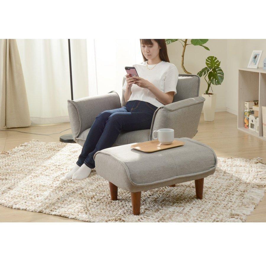 【ソファと同時購入専用】 オットマン おしゃれ スツール リラックス a281 和楽 脚置き Ottoman WARAKU KAN stool ソファのサイドテーブル 新生活 2021|waraku-neiro|16