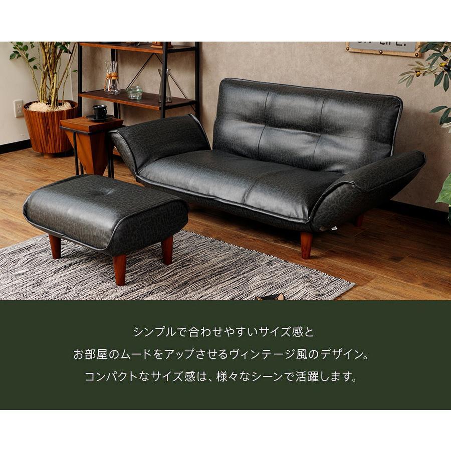 オットマン 合皮 PVC コーデユロイ おしゃれ 脚置き カラー 脚置き 和楽 WARAKU 「KAN ヴィンテージ」 a281 スツール 日本製 一人暮らし サイドテーブル 2021|waraku-neiro|02