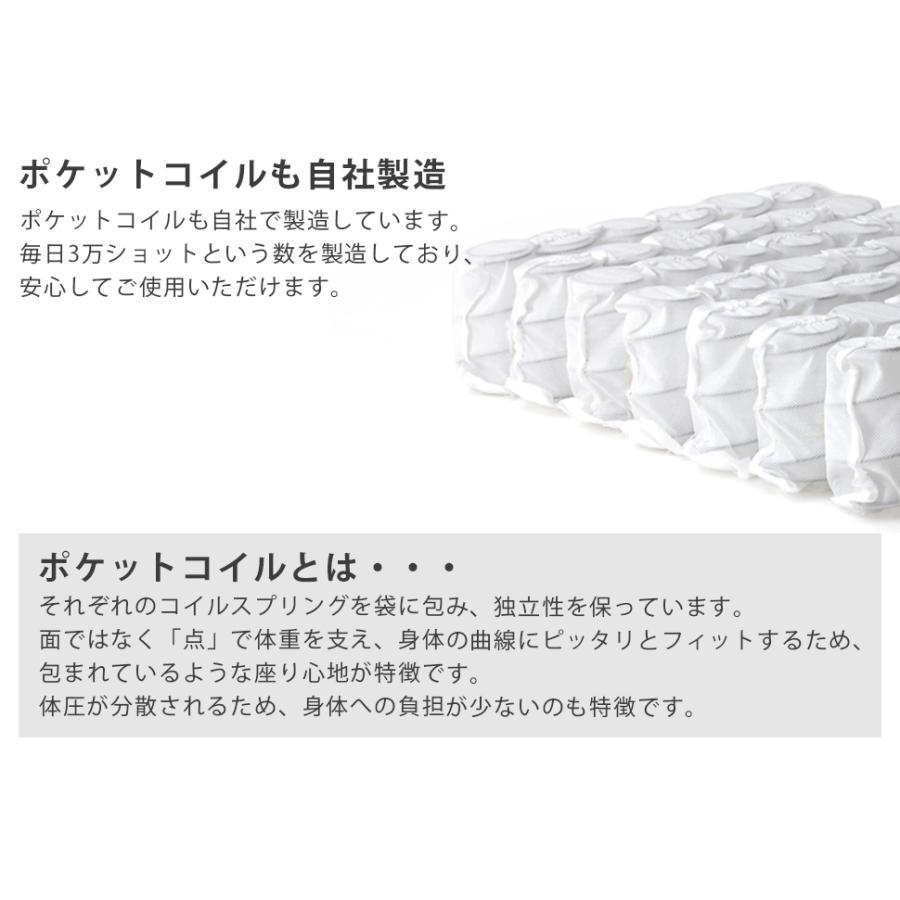 ソファー ソファ 2人掛け おしゃれ 二人掛け 日本製 ハイバック 一人暮らし インテリア 北欧 シンプル 新生活 ポケットコイル LULU A40 2021 waraku-neiro 09