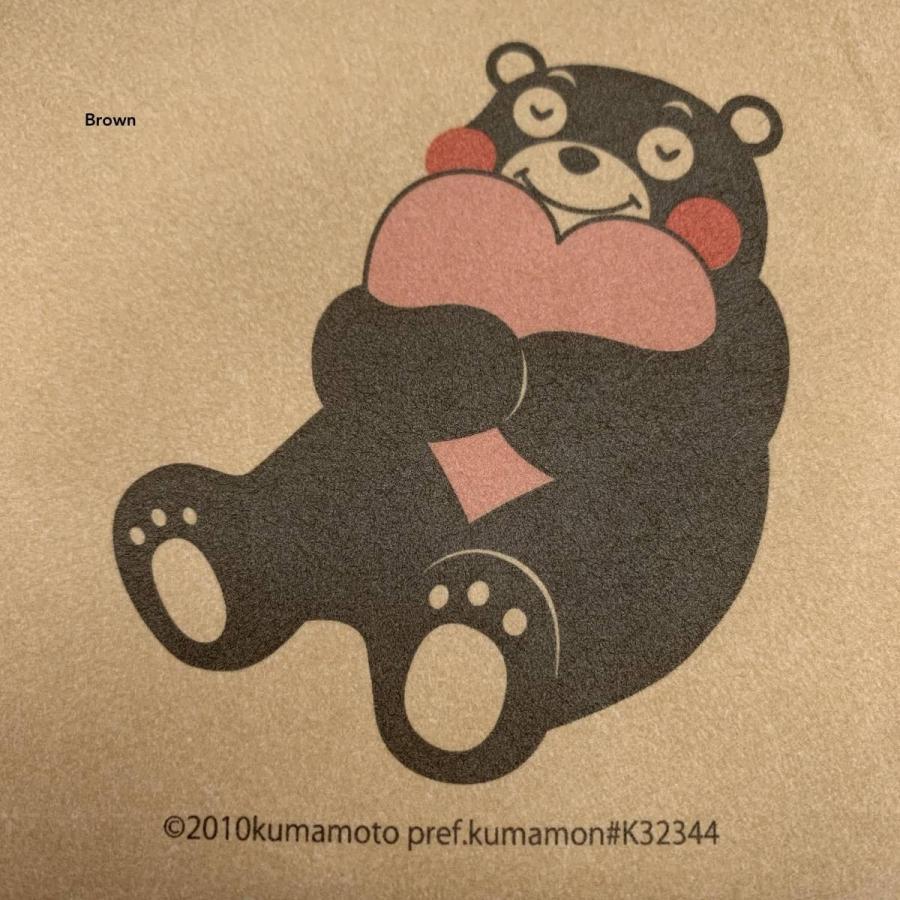 C-WASAMON スクエアポーチ グレー 灰色 ブラウン 茶色 ダークピンク 桃色 くまモン 和紙 丈夫 軽い エコ プレゼント ギフト ポーチ トラベル 化粧品 かわいい|wasamon|05