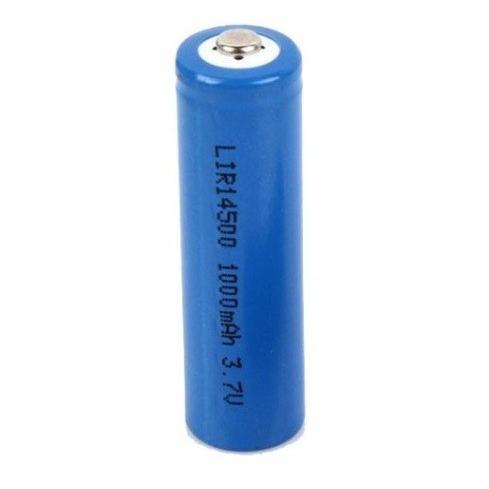 WASHODO 授与 希少 単三 14500 リチウムイオン 充電式電池 1本 3.7V 三ヶ月安心保証付き 800-0038C 1000mAh