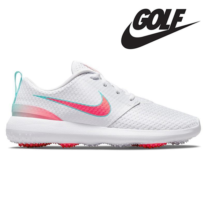 <海外カラー>NIKE ROSHE GOLF HOT PUNCH 2021  ナイキ ゴルフシューズ 0102322|wasistockts