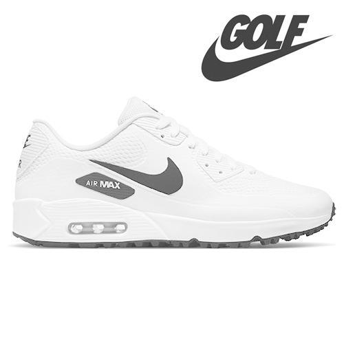 NIKE AIR MAX 90 GOLF White & Black  ナイキ エアマックス ゴルフシューズ 0102303|wasistockts