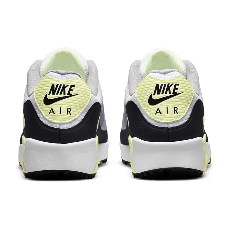 <海外先行カラー>NIKE AIR MAX 90 GOLF White Barely Volt 2021 ナイキ エアマックス ゴルフシューズ 0102364 wasistockts 03