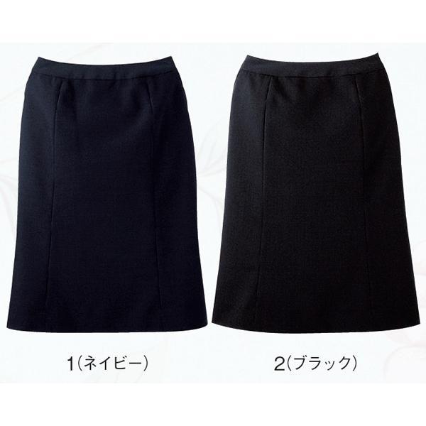 スカート ボトムス ビジネスウェア 事務服 マーメードスカート FS4054 (5号〜19号) フォーク (FOLK) 取寄