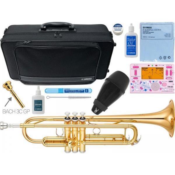 YAMAHA(ヤマハ) YTR-4335G2 トランペット 新品 ゴールドブラス B· YTR-4335GII Trumpets gold YTR-4335G-2-01 BACH マウスピース セット 北海道 沖縄 離島不可