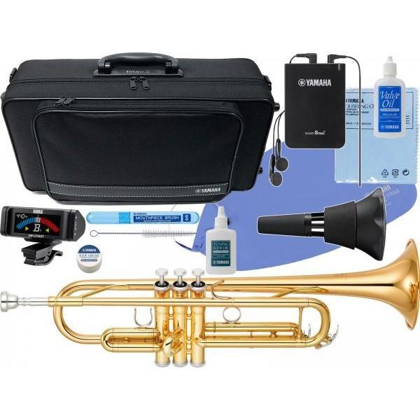 YAMAHA YTR-4335G2 トランペット 新品 ゴールドブラス B· YTR-4335GII Trumpets gold YTR-4335G-2-01 サイレントブラス SB7X セット D 北海道 沖縄 離島不可