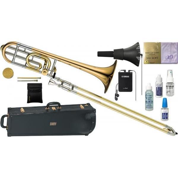 XO(エックスオー) 1236RL トロンボーン 正規品 B· F管 テナーバストロンボーン 太管 管楽器 本体 Tenor Bass Trombones SR-GB セット B 北海道 沖縄 離島不可