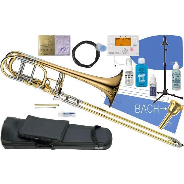 XO 1240RL-T トロンボーン 新品 B·/F/G·/D管 バストロンボーン アキシャルフローバルブ ゴールドブラス 太管 Bass Trombones RB-GB Axial Flow Valve セットA
