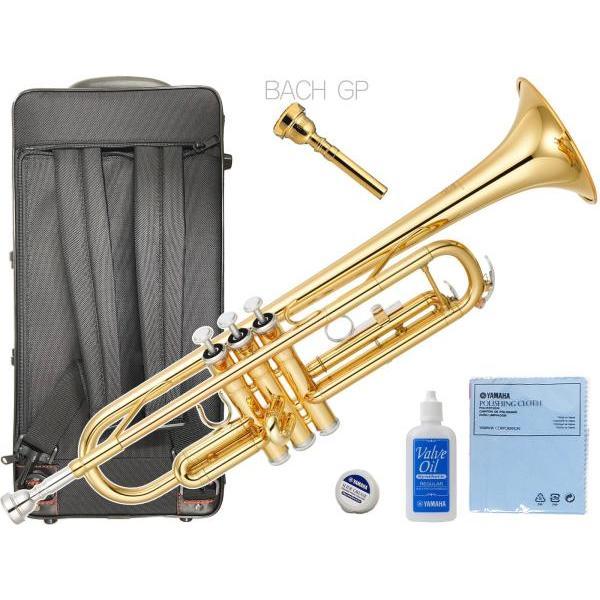 YAMAHA YTR-3335 トランペット リバース管 ゴールド 1本支柱 管楽器 B· 正規品 YTR-3335-01 Trumpet サイレントブラス SB7XP セット G 北海道 沖縄 離島 不可