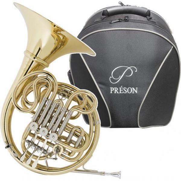 PRESON(プレソン) PR-103 GL フレンチホルン アウトレット デタッチャブル  F/B· フルダブルホルン Full double French horn 北海道 沖縄 離島不可