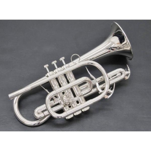Brasspire Unicorn(ブラスパイア ユニコーン ) BPCT-B4S コルネット 新品 アウトレット 本体 銀メッキ 管楽器 B· 管体 Bb Cornet  北海道 沖縄 離島不可