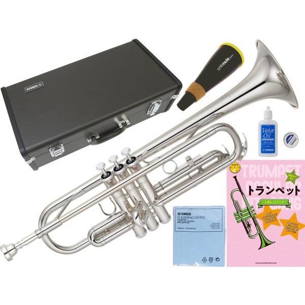 YAMAHA(ヤマハ) YTR-2330S ジブリで吹く トランペット 正規品 銀メッキ シルバー B·Trumpet YTR-2330S-01 セット 北海道 沖縄 離島不可