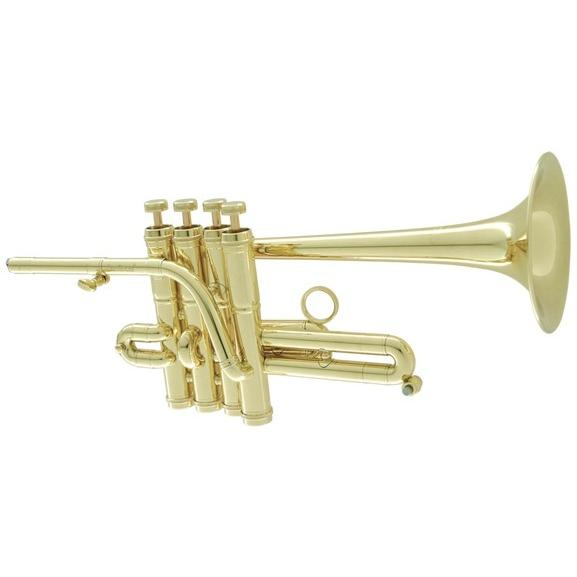 CarolBrass( キャロルブラス) N7775 CL ピッコロトランペット ラッカー 4ピストン 管楽器 本体 piccolo trumpet 北海道 沖縄 離島不可