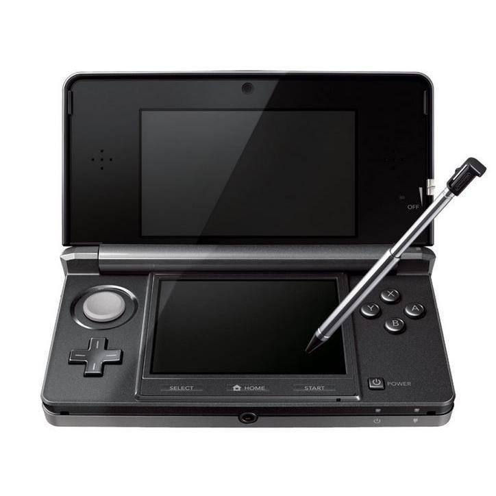 送料無料 ほぼ新品 すぐに遊べる ニンテンドー 3DS 本体 コスモブラック 付属品揃い 配送P250配種LP