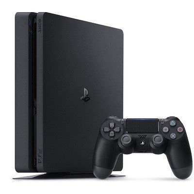 送料無料 PlayStation 4 ジェット・ブラック 1TB(CUH-2000BB01) 配種HK