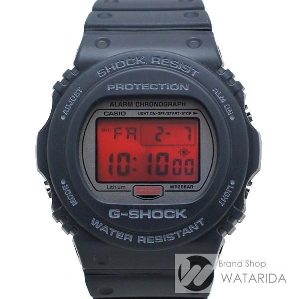 カシオ 腕時計 G-SHOCK DW-5700ML-1JF 20周年記念モデル スティング ブラック ラバー 箱・保付 未使用品【送料無料】|watarida710
