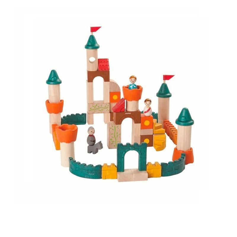 木のおもちゃ 知育 おもちゃ 3歳 4歳 積み木 おしゃれ 誕生日 プレゼント 幼児 子供 お祝い ブロック 木製 かわいい 海外 ファンタジーブロック プラントイ watashi-s 04
