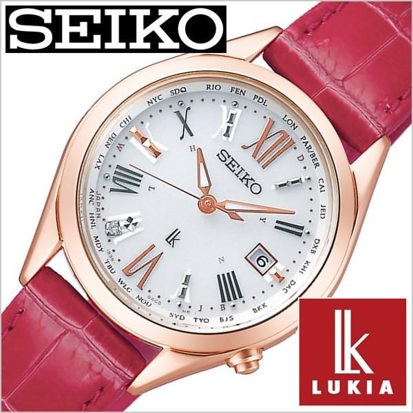 一番人気物 セイコー 時計 LUKIA ルキア 腕時計 SEIKO セイコー 時計 LUKIA レディース ホワイト SSQV042, だがしや小町:4f313d5e --- airmodconsu.dominiotemporario.com