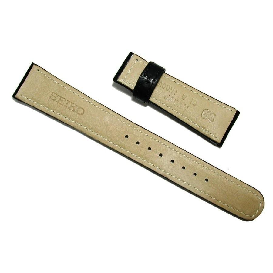 19mm A00H1AC 時計ベルト グランドセイコー SBGE027 純正ベルト クロコダイル 黒 バックル専用 正規品|watch-moonf|02